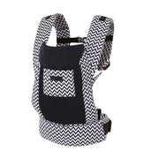 Cotton Blend Ergonomic Baby Carrier with Storage Pouch