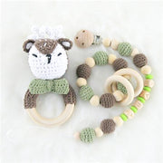 Handmade Personalized Customized Baby Teething Set