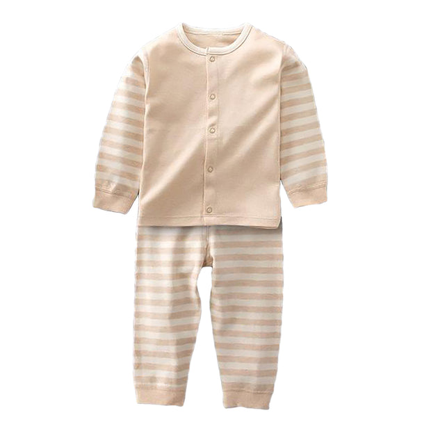 Organic Cotton Baby Pajama Set, 2-Piece