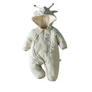 Organic Cotton Giraffe Hooded Baby Pram