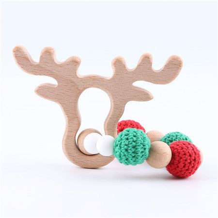 Handmade Holiday Baby Teether