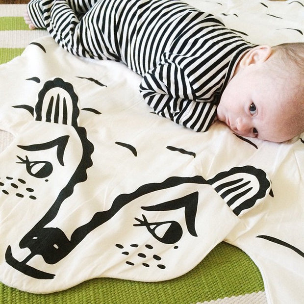 Baby Blanket in Animal Shape