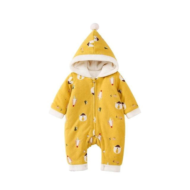 Yellow Puppy  Baby Outfit