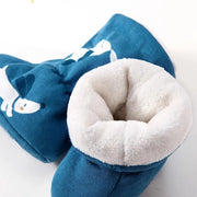 Sherpa Baby Booties Slippers