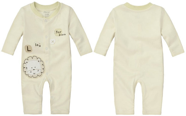 Organic Cotton Long Sleeve Baby Romper