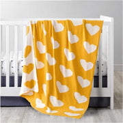 Natural Cotton Knitted Baby Blanket