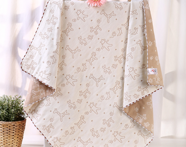 Organic Cotton 5 Layered Muslin Baby Blanket