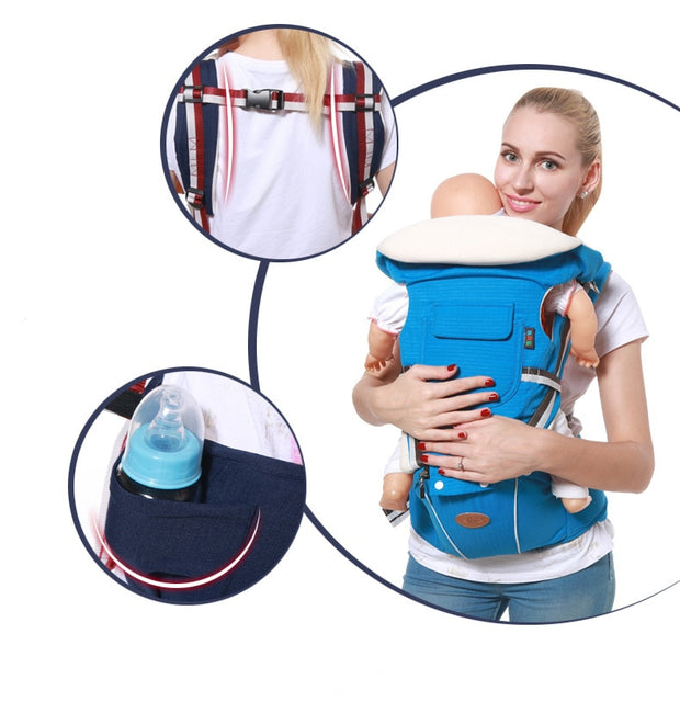 baby carrier with back support