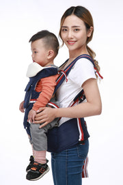 Best 5-in-1 Ergonomic Infant to Toddler Baby Carrier with Removable Hip Seat