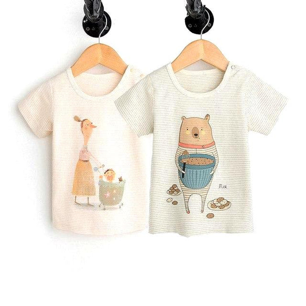 Organic Cotton Baby Tee, 2-Pack