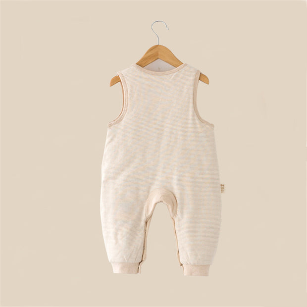 Organic Cotton Sleeveless Baby Pram