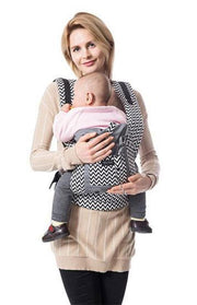 Cotton  Ergonomic Baby Carrier front and back
