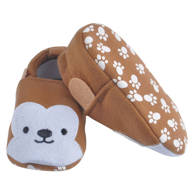 Baby Monkey Cotton Baby Moccasins