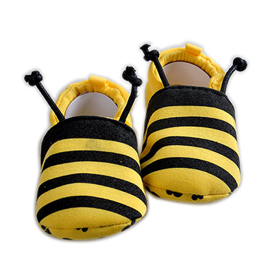 Baby Bee Cotton Baby Moccasins