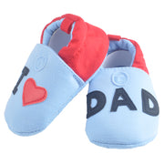 I Love Dad Baby Boy Shoes