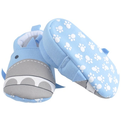 Blue Shark Baby Shoes