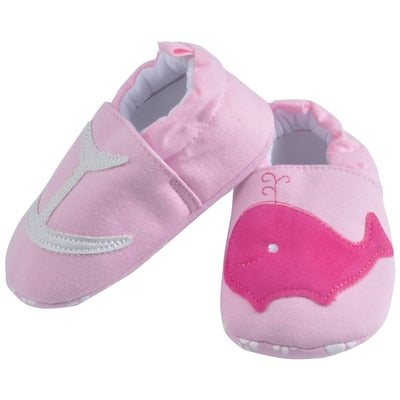 Pink Dolphin Baby Shoes