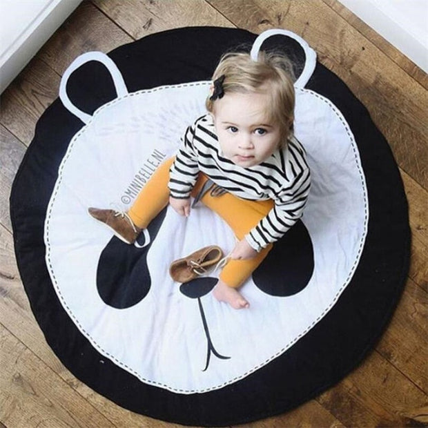 Cotton and Bamboo Baby Activity Mat Panda