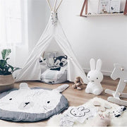 baby bunny activity mat