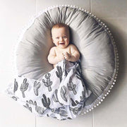 Padded Cotton Baby Activity Mat and Lounger