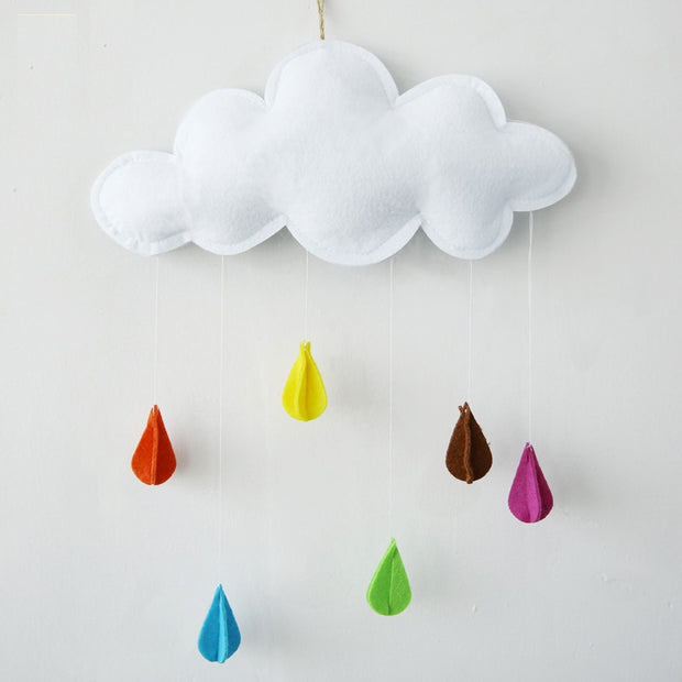 Cotton Nursery Decor Hanging Cloud Pendant