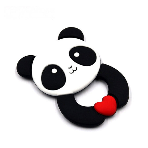 Black and White Baby Panda Teether