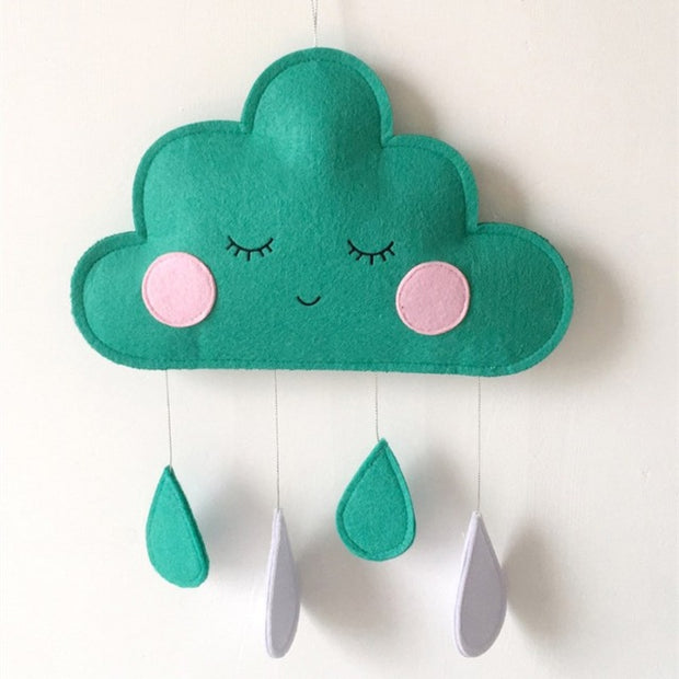 Cloth Nursery Decor Hanging Cloud Pendant