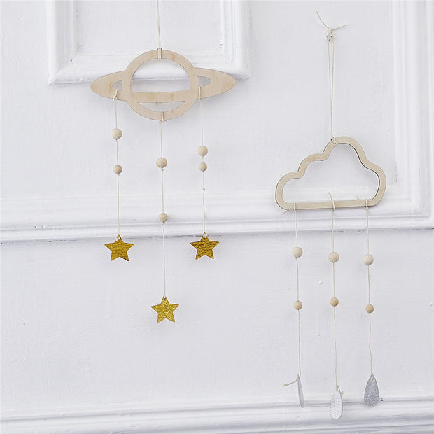 Non-toxic Wooden Handmade Hanging Nursery Decor