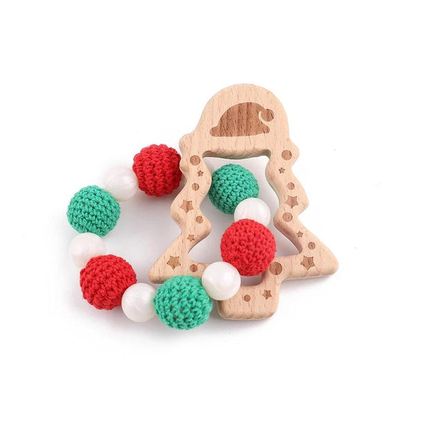 Handmade Holiday Baby Teething Set