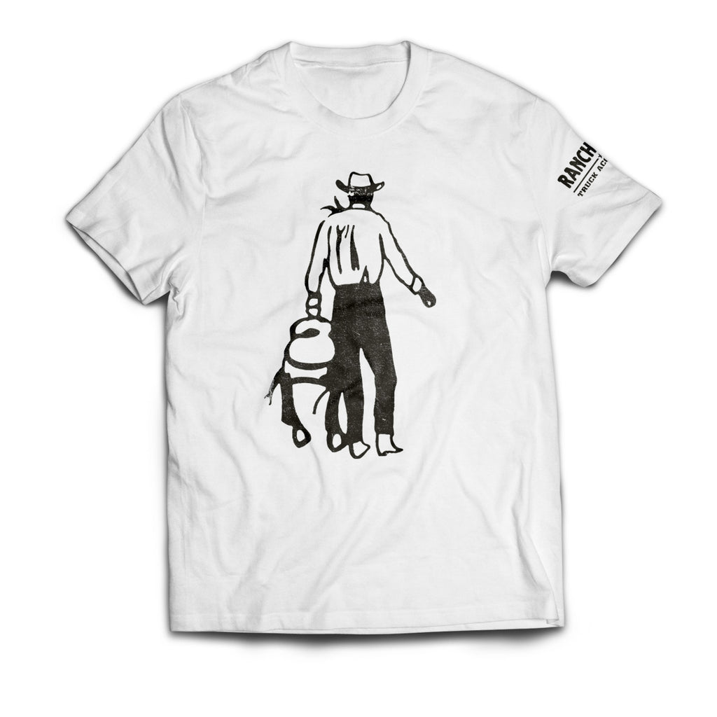 SADDLE UP COWBOY SHORT SLEEVE T-SHIRT