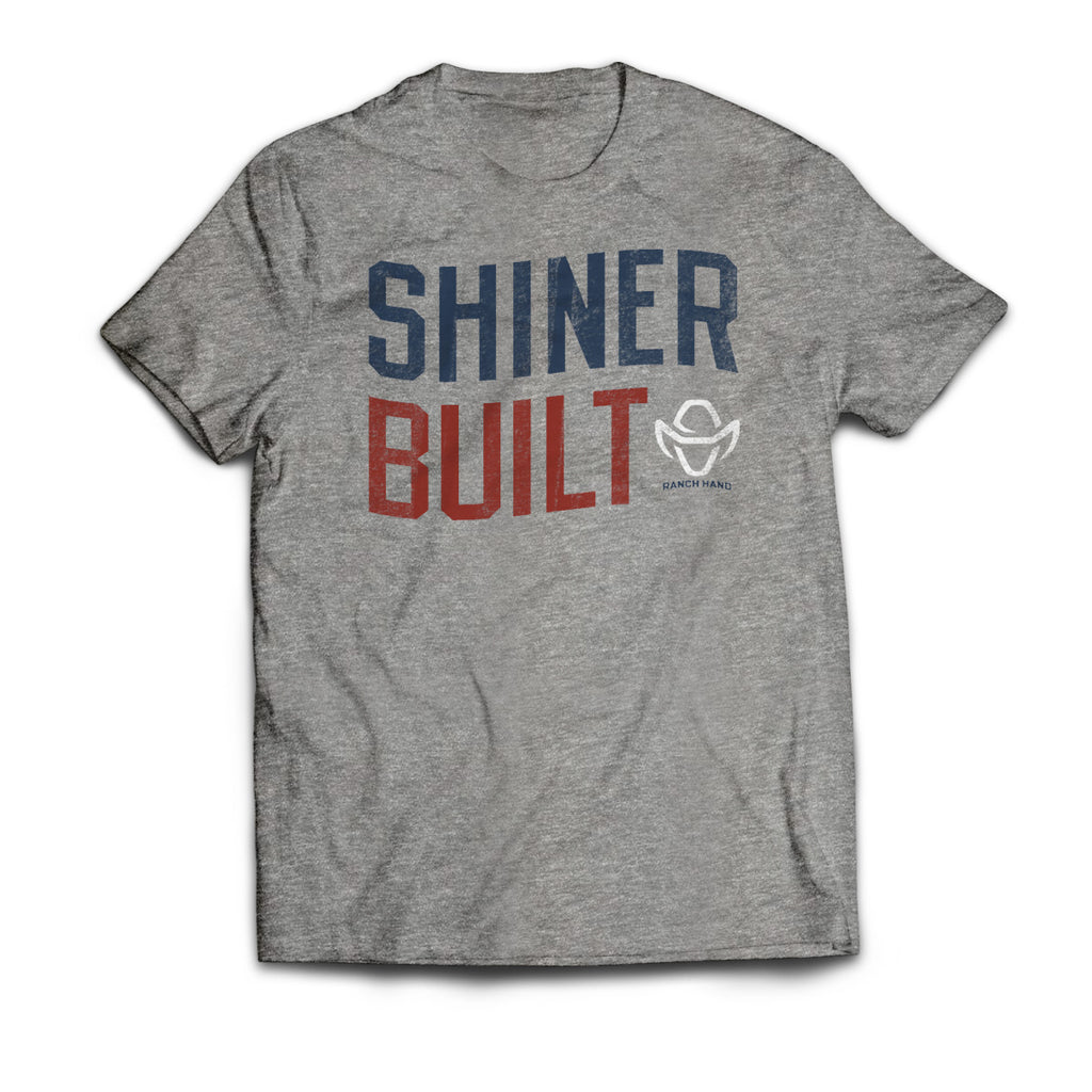 SHINER BUILT SHORT SLEEVE T-SHIRT