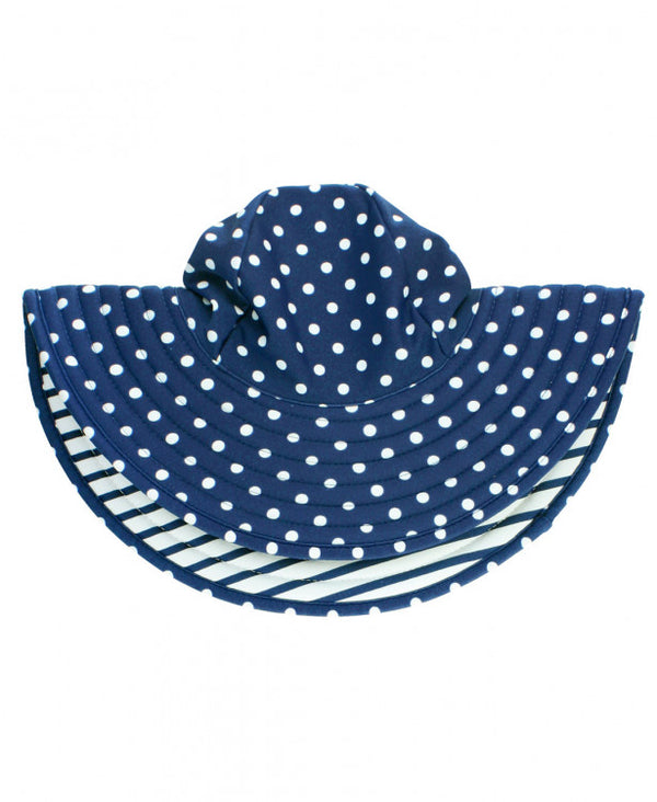 Polka Dot Princess Reversible Hat
