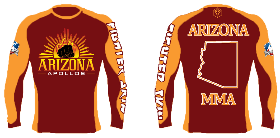 EAFL Team - Arizona - Rash Guard