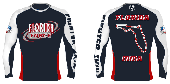 EAFL Team - Florida - Rash Guard
