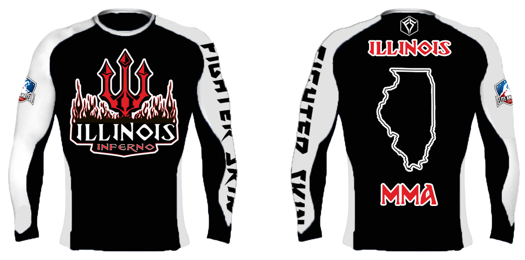 EAFL Team - Illinois - Rash Guard