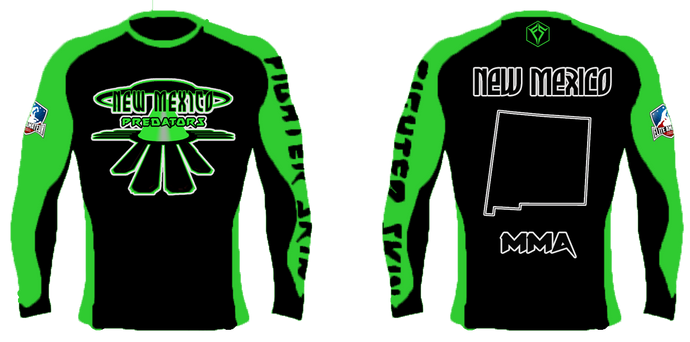 EAFL Team - New Mexico - Rash Guard