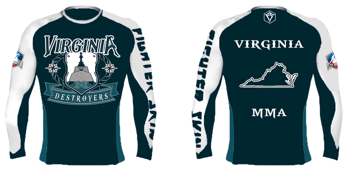 EAFL Team - Virginia - Rash Guard