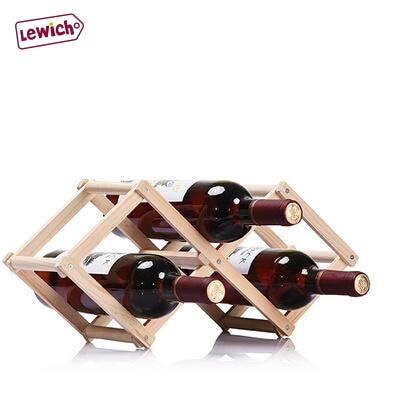 High Quality Wooden Wine Rack Lewich