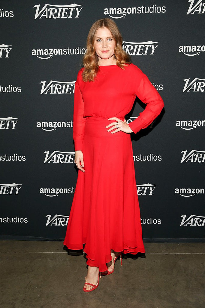 Amy Adams wears Galvan to Variety Studio event