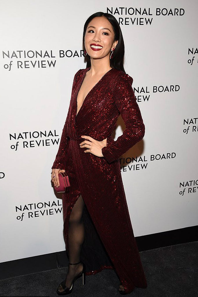 Constance Wu wears Galvan to the National Board of Review Awards Gala