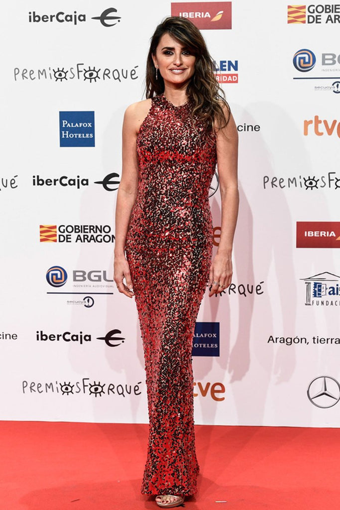 Penelope Cruz wears Galvan to Jose Maria Forqué Awards