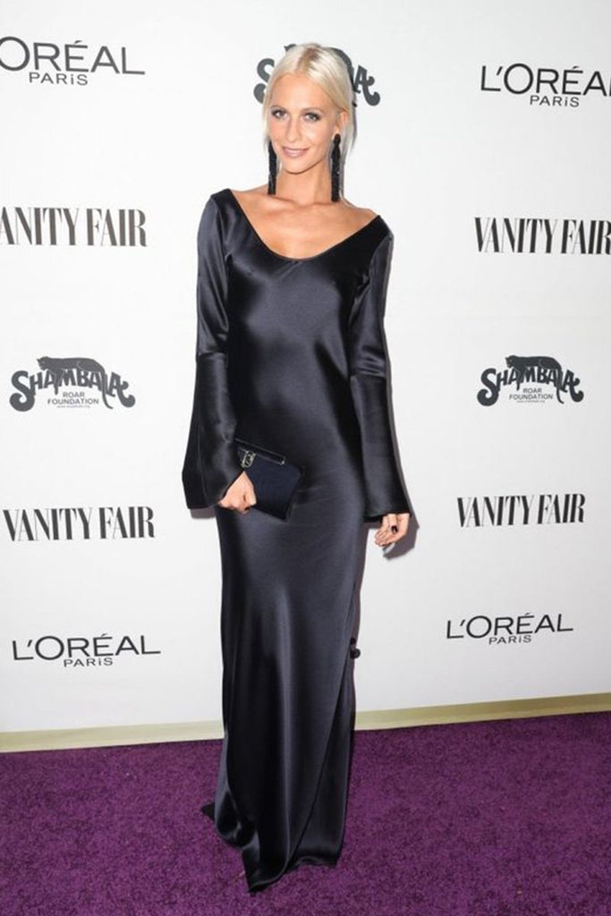 Poppy Delevingne wears Galvan at Vanity Fair Young Hollywood party