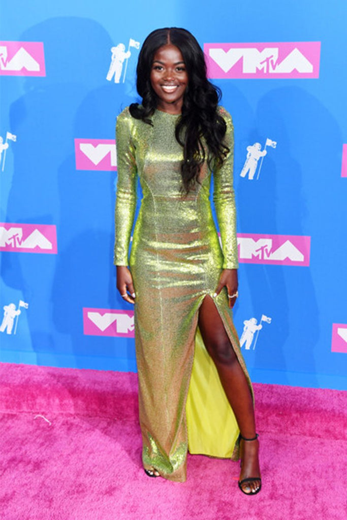 Sherrie Silver wears Galvan to MTV Video Music Awards