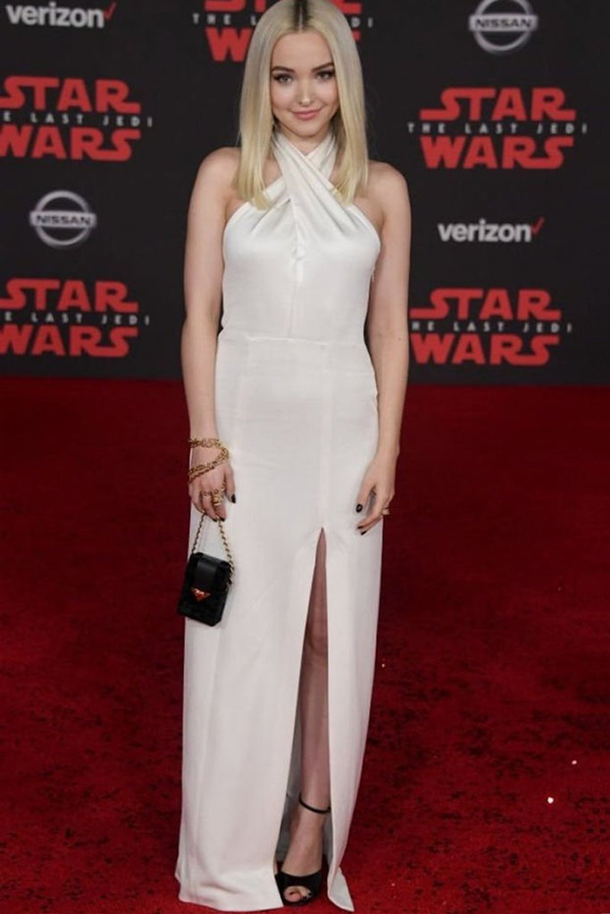 Dove Cameron wears Galvan to the Star Wars premiere