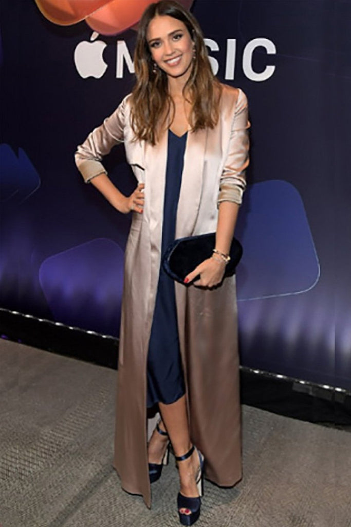 Jessica Alba wears Galvan to the premiere of 'Planet of The Apps'