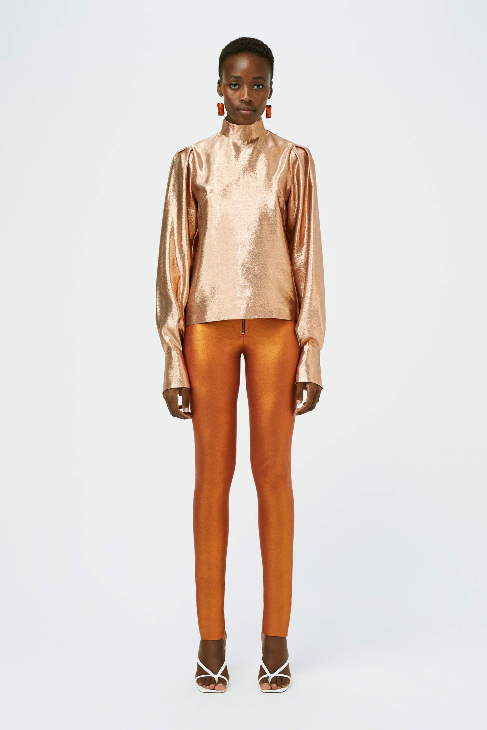 Aura Blouse - Atomic Copper