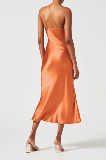 Cropped Roxy Dress - Apricot