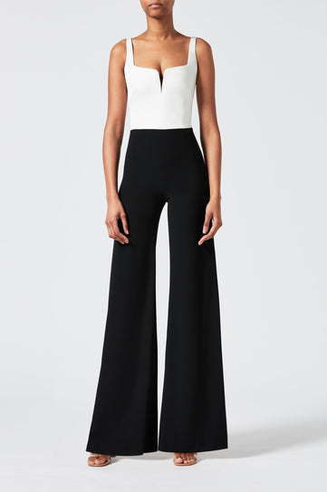 Eclipse Jumpsuit - Black & White