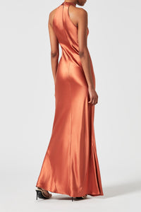 Eve Dress - Rust