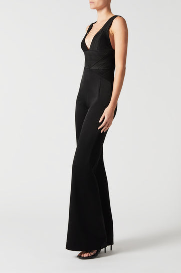 Langen Jumpsuit - Black